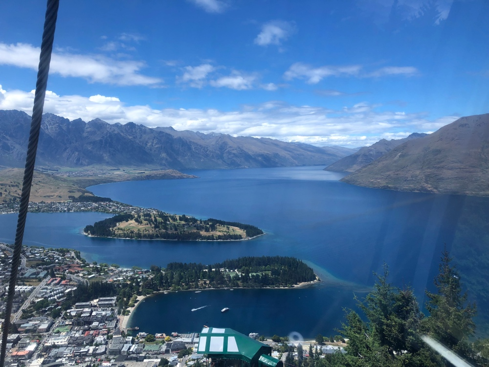 Queenstown gondola views